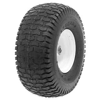 2 Reifen inkl. Schläuche 13x5.00-6 für Rasentraktor Aufsitzmäher