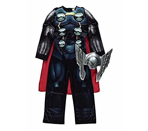 Disney Marvel licensed Thor fancy dress Age 5-6yrs Avengers Assemble costume made by Rubies for the George Collection by Rubies