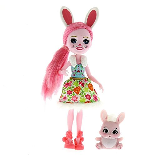 Enchantimals Muñeca Bree Bunny con Mascota