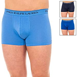 41 zNqJ FbL. SS300  - Polo Ralph Lauren | 3 Boxer Pack En Algodon Azul | RLU_714513424010