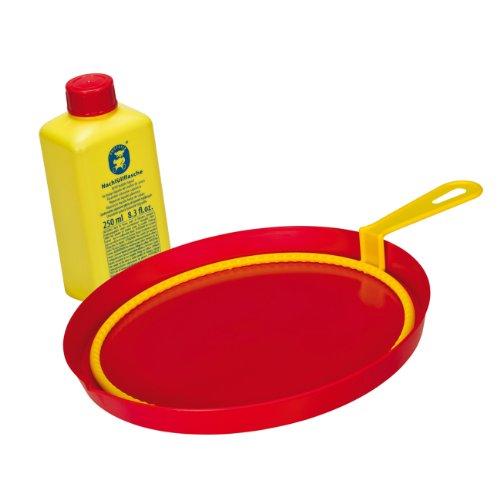 Pustefix - Anillo gigante, juego para hacer pompas de jabón, 250 ml (colores surtidos)