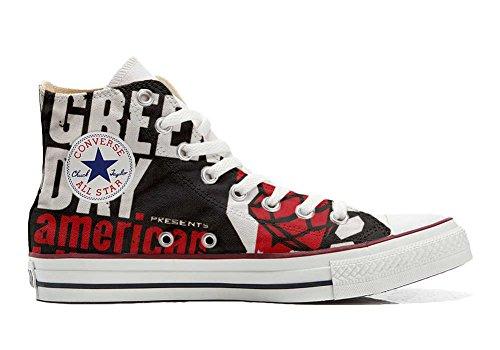 Converse All Star Personnalisé et Imprimés Hi chaussures coutume, Sneaker Unisex (produit Italien artisanal) America