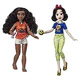Hasbro Disney Prinzessinnen Comfy Squad Moana und Snow White, Puppen zum Film Chaos im Netz mit...