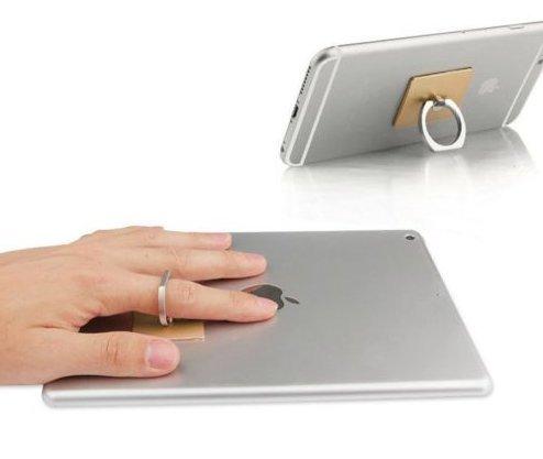3PCS Universal Ring Grip Ständer Halter für jeden Handy-Auto-Home Use 360° drehbar - Zufällige Farbe