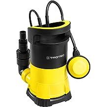 Wolpertech WT400 Kombi Tauchpumpe 2in1 400W für Klarwasser und Schmutzwasser