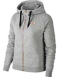 sale retailer 8577a 8e3fe Nike Damen W NSW Rally Hoodie Fz Air Pullover