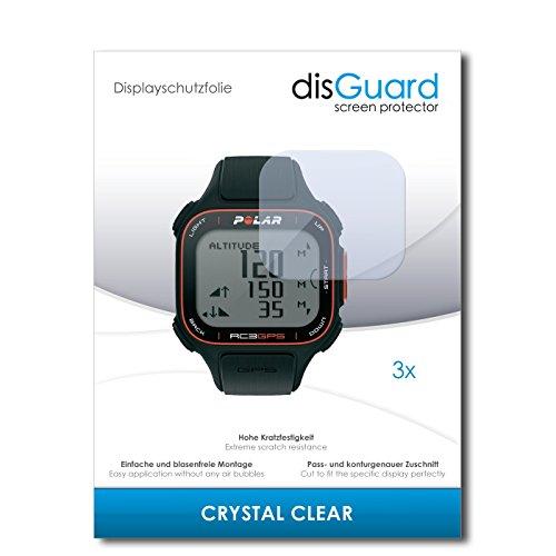 3-x-disguard-crystal-clear-lamina-de-proteccion-para-polar-rc3-gps-rc-3-gps-proteccion-de-pantalla-c