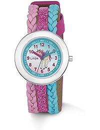 Prinzessin Lillifee Mädchen-Armbanduhr Analog Quarz Kunstleder 2013209