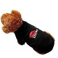 Amphia - Fleece-Kapuzenpullover,Hundehaustier Kleidung Hoodie Warme Sweatshirts Puppy Coat Apparel