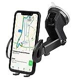 Supporto Auto Smartphone, iAmotus Porta Cellulare Universale Ventosa Fort per Cruscotto Parabrezza e per iPhone X/8/8P/7/6s/6 Samsung Galaxy/Note S8 S7 Huawei Sony e Android Smartphone GPS