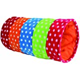 Trixie 4291 Spieltunnel, Fleece, 25 x 50 cm, bunt