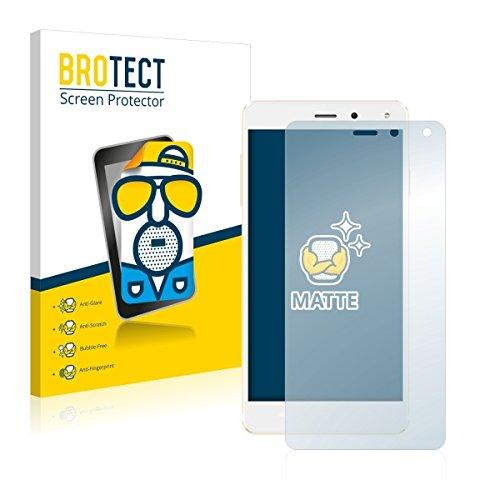 2X BROTECT Matt Bildschirmschutz Schutzfolie für Allview E4 Lite (matt - entspiegelt, Kratzfest, schmutzabweisend)