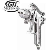Devilbiss GTI520P11 GTI HVLP - Pistola de alimentación a presión con punta de líquido ...