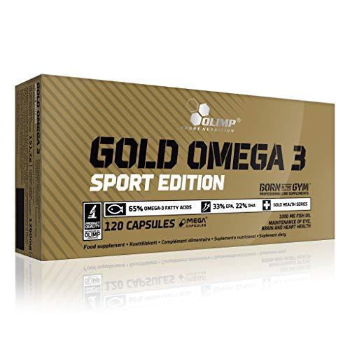 Olimp Gold Omega 3 Sport Edition, 120 Kapseln (2er Pack)