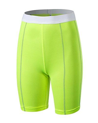 Guocu donne pantaloni addestramento idoneità professionale pantaloni stretti sport yoga base layer asciugatura rapida top