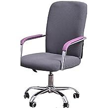Oficina computadora asiento cubierta de la silla/ taburete tela/ cubiertas de la silla del spandex de una sola pieza-E