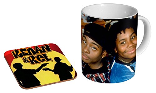 Kenan & Kel 90s Ceramic Coffee Mug + Coaster Gift