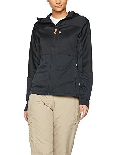 Fjällräven Damen Abisko Trail Fleece W Pullover und Sweatshirt, Black, S