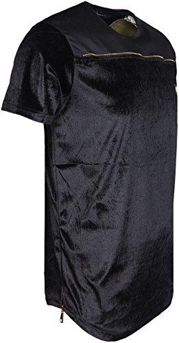 TIME IS MONEY -  T-shirt - Uomo Black