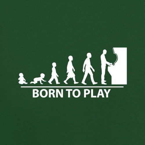 Born To Game - Herren T-Shirt - 13 Farben Flaschengrün
