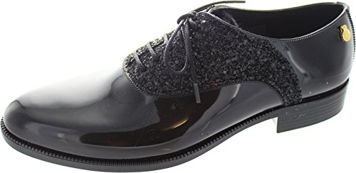 Lemon Jelly Tiara 01, Scarpe stringate donna nero Black, nero (Black), 39