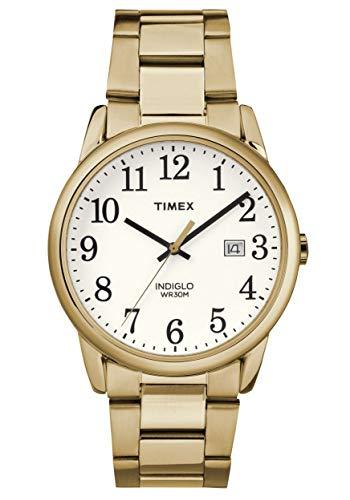 Timex Herren Analog Quartz Uhr Easy Reader