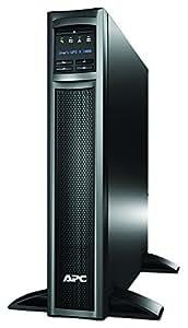 APC Smart-UPS SMX - Onduleur 1000 VA - montage en rack/tour - modèle à autonomie longue durée - SMX1000I - Line-interactive, Régulateur automatique de tension (AVR), Écran LCD, 8 Prises IEC-C13, Logiciel d'arrêt