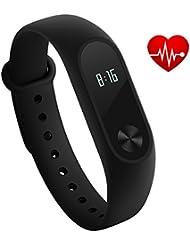 Xiaomi Mi Band 2 Fitness Smartband Pulsera de actividad con Heart Rate monitor Armband Tracker