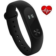 Xiaomi Mi Band 2 Bracelet Sport Wristband Intelligent Fitness Tracker Heart Rate Monitor