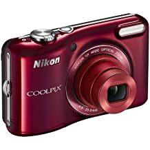 Nikon Coolpix L28 Camera - Red (20.1MP, 5xZoom, 26mm Wide Lens) 3.0 inch LCD