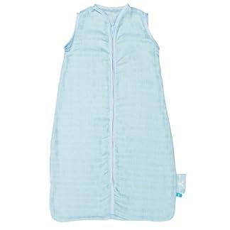 Wallaboo SL0.0411.3 – Saco de dormir clásico, 0.5 tog, fabricado con muselina de 100% algodón, 50 x 62 cm