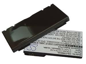 Batterie haute performance LI-ION 5000mAh pour NINTENDO 3DS, N3DS, CTR-001, MIN-CTR-001 remplaçant CTR-003, C/CTR-A-AB, incluant boîtier arrière