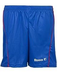 Reece porter short de gardien de but de hockey bleu ciel-bleu-bleu ciel-taille m/l