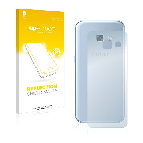 upscreen Matt Bildschirmschutzfolie für Samsung Galaxy A3 (Rückseite, 2017) Schutzfolie Folie - Entspiegelt
