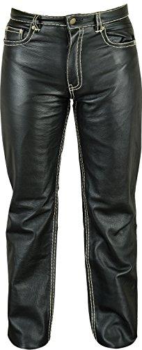 Lederprofi - Pantalón - Ajustada - para Hombre Negro 46