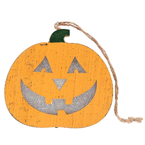 Amosfun Halloween Laterne Kürbis Anhänger Horror Laterne Halloween Street Light -