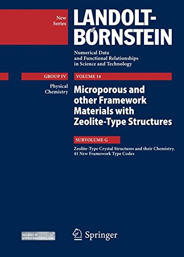 Zeolite-Type Crystal Structures and their Chemistry. 41 New Framework Type Codes (Landolt-Börnstein: Numerical Data and Functional Relationships in Science and Technology - New Series)