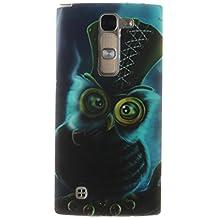 "LG G4c Funda, SsHhUu Animal Ultra Slim Suave TPU Flexible Durable Gel Silicona Protector Rear Skin Painting Art Carcasa Tapa Case Cover para LG G4c H525N / LG G4 mini (5.0"")"