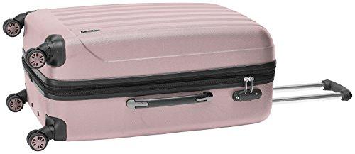 Packenger Velvet Koffer, Trolley, Hartschale  L in Mauve.   50x34x23cm -