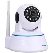 TENVIS Cámara de Vigilancia Seguridad HD 1280x720P P2P H.264 1.0 MP Pan / Tilt WiFi Inalámbrico Visión Nocturna Detección de Movimiento iOS Android Tablet PC