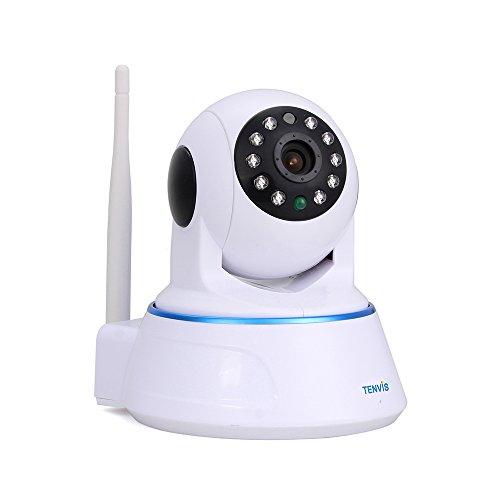 Tenvis Wireless schwenkbare Überwachungskamera 1.0MP HD 720P H.264 1/4