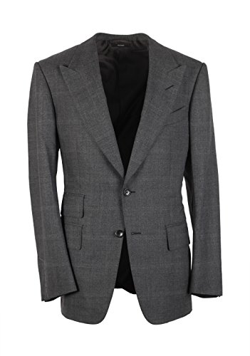cl-tom-ford-windsor-checked-gray-suit-size-48-38r-us-wool-fit-a