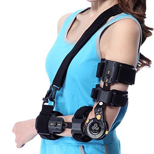 WY-Elbow Ellenbogen Orthese mit Kubitaltunnelsyndrom | Schiene zur Behandlung von Schmerzen durch Ulnar-Nerven-Einklemmung, Ellbogen-Vorbeugung und Arm-Wegfahrsperre nach Operationen,Right -