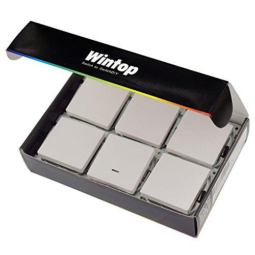 wintop-face-welchsel-schalter-gratis-mit-led-push-button-switch-package-55x55-mm-6-stuck-weiss-11630