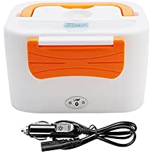 goodchanceuk 12 V coche uso calefacción eléctrica caja de almuerzo Bento portátil calentador calentador de alimentos