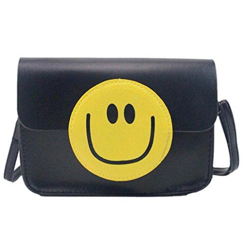 ESAILQ Mode Emoji Sac à main Femmes Sac à bandoulière Petit sac dames bourse