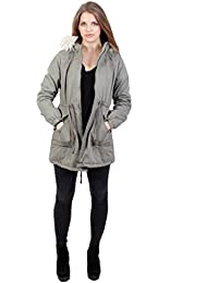 A Wear - Reorder Womens Hooded Padded Winter Parka