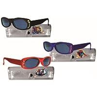 fantasy toys Spiderman Lunettes de soleil avec étui de protection 1 unité assortiment Rouge/Bleu/Noir SKRpFvB8J
