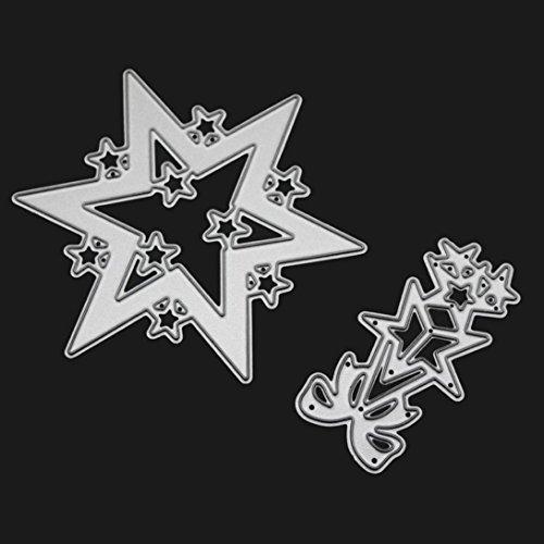 nen Metall Form Schablonen Schneiden DIY Dekor Weihnachten Metall Stanzformen Schablonen Scrapbooking Präge DIY Handwerk (04#) (Halloween-hexe-dekor)
