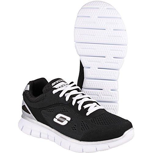 Skechers SynergyPower Shield 95496L, Jungen Sneakers Black/White